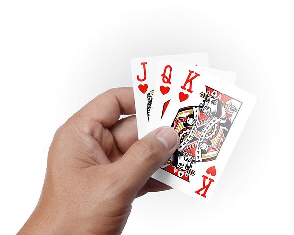 Тесте Сапфир - карти за игра от 100% Plastic, водоустойчиви, син гръб