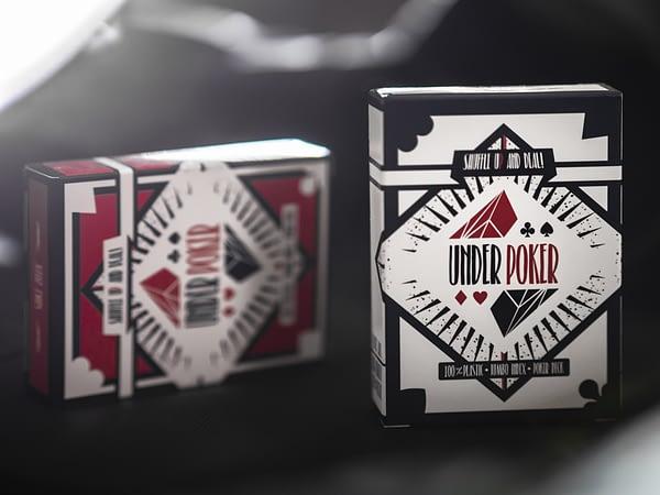 Set of playing cards, 2 decks, 100% Plastic